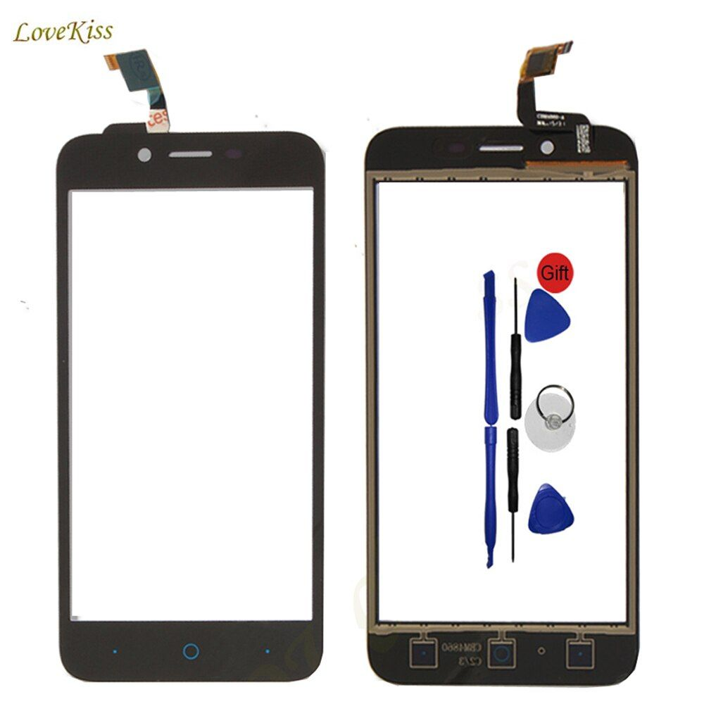 Touch Screen Panel Digitizer For ZTE Blade L4 Pro A460 A465 T610 A475 Touchscreen Sensor Front Outer Glass Replacement Tools