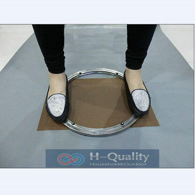 Sólidos de Acero Inoxidable Lazy Susan Giradiscos Placa Giratoria Cocina Muebles De Diámetro Exterior 400 MM (16 Pulgadas) Carga pesada Y Suave