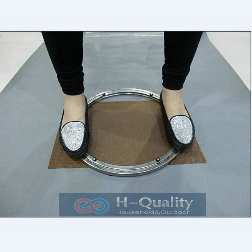 Solid Stainless Steel Lazy Susan Turntable Swivel Plate Kitchen Furniture Of Outside Dia 400 MM (16 Inch) Heavy Load And Smooth