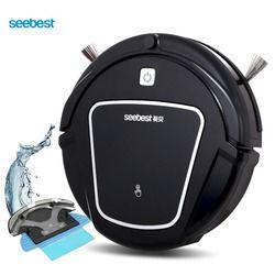 Seebest D730 MOMO 2,0 Robot aspirador con mojado/Seco Mopping función, Robot limpia aspirador horario rusia almacén
