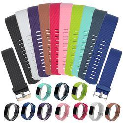 Silicone Bande De Remplacement Pour Fitbit Charge 2 Coeur Taux Smart Bracelet Bracelet Portable Ceinture Bracelet Pour Fitbit Charge 2 Bande