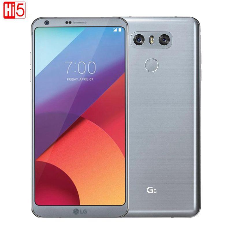 Original LG G6 Handy 4g RAM 32g ROM Quad-core 13MP Kamera Einzelne SIM H871/ VS988 LTE 4g 5,7