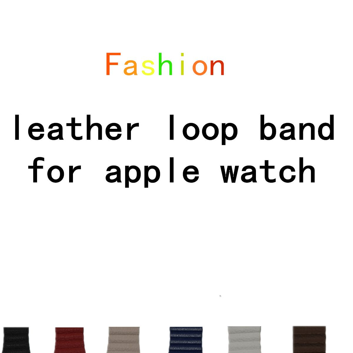 LNOP leather loop <font><b>band</b></font> for apple watch <font><b>band</b></font> 42 mm/38 strap bracelet & Adjustable Magnetic Closure Loop leather strap