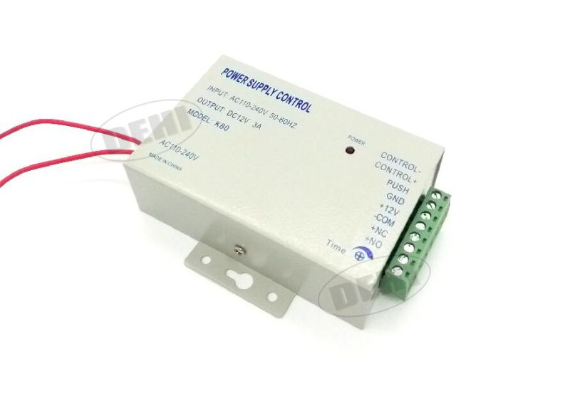 DC 12V 3A/AC 110~240V High Quality Switch Power Supply for Door Access Control System