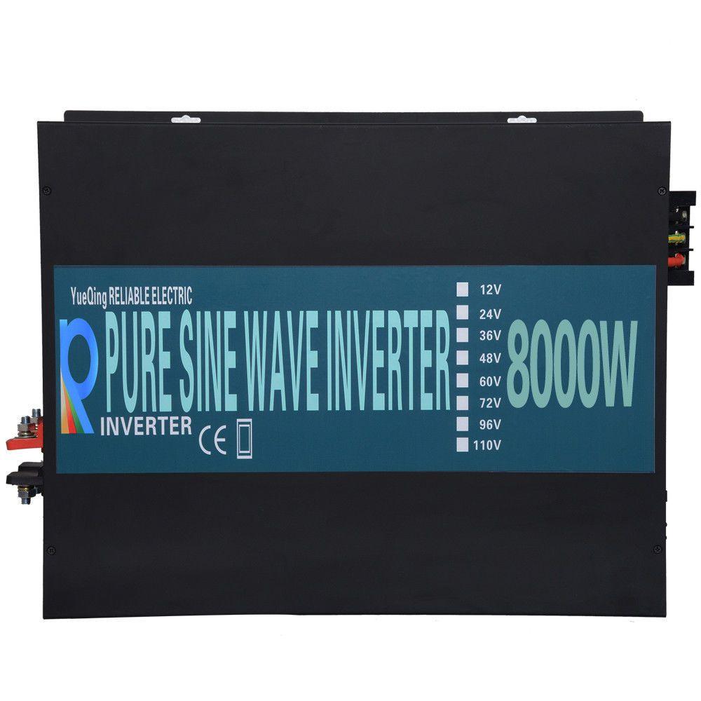 10000 W Off Grid Reine Sinus Welle Inverter Power Inverter 24 V zu 220 V Solar Inverter 12 V/ 24 V/48 V DC zu 120 V/220 V/240 V AC Converter