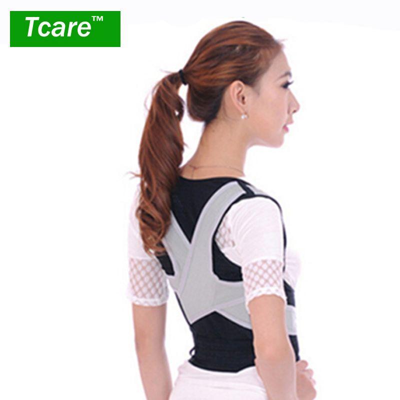 * Tcare 1 pièces Correction de Posture taille épaule poitrine dos soutien orthèse correcteur ceinture pour femmes hommes taille M/L/XL soins de santé