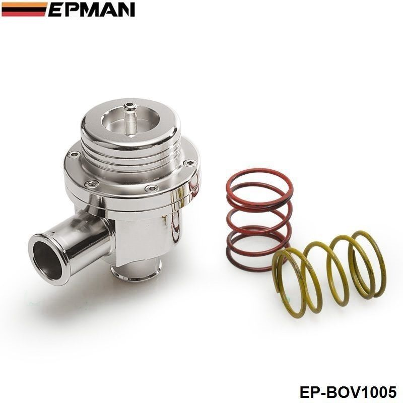 Blow off valve 25MM BOV (4bar) FOR VW silver ( 2 spring are 14PSI and 7PSI) EP-BOV1005