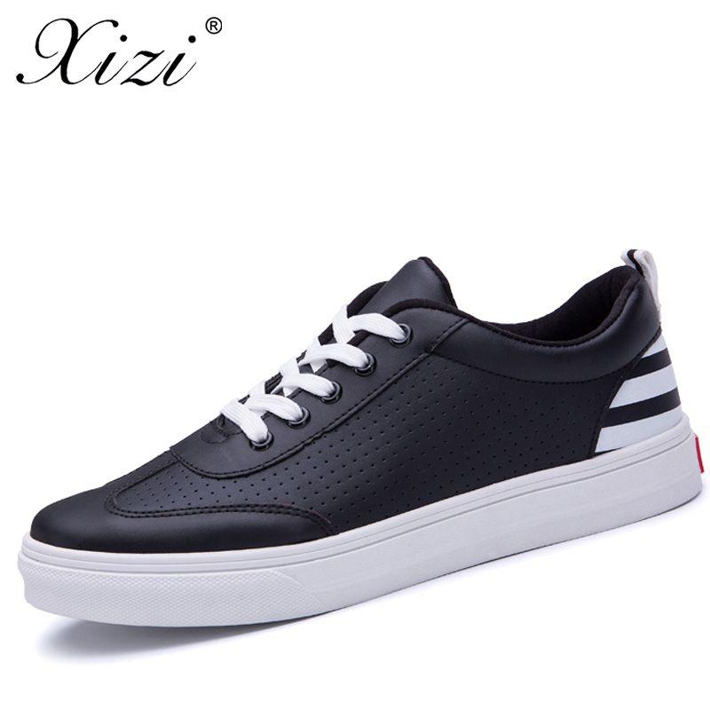 XIZI Fashion White Men's Vulcanize Shoes Classic Shoes Male Casual White Fashion Walking Shoes Men Flats zapatillas de hombre