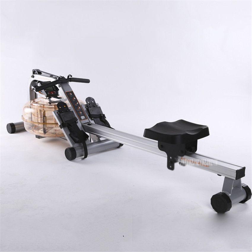 MR016 Water Resistance Row Machine Abdominal Pectoral Arm Fitness Training Stamina Body Glider Rowing Indoor Home GYM Equipment
