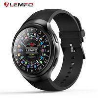 LEMFO LES2 relojes inteligentes Smartwatch Android 1 GB + 16 GB del teléfono del reloj Monitor de ritmo cardíaco GPS Wifi Bluetooth reloj de pulsera