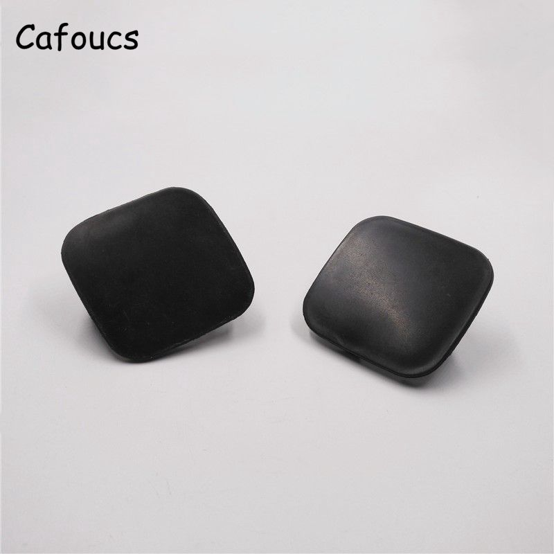 Cafoucs For Toyota Corolla 2010 2011 2012 2013 Car Front Bumper Tow Hook Cover Caps 52128-02320 52129-02320