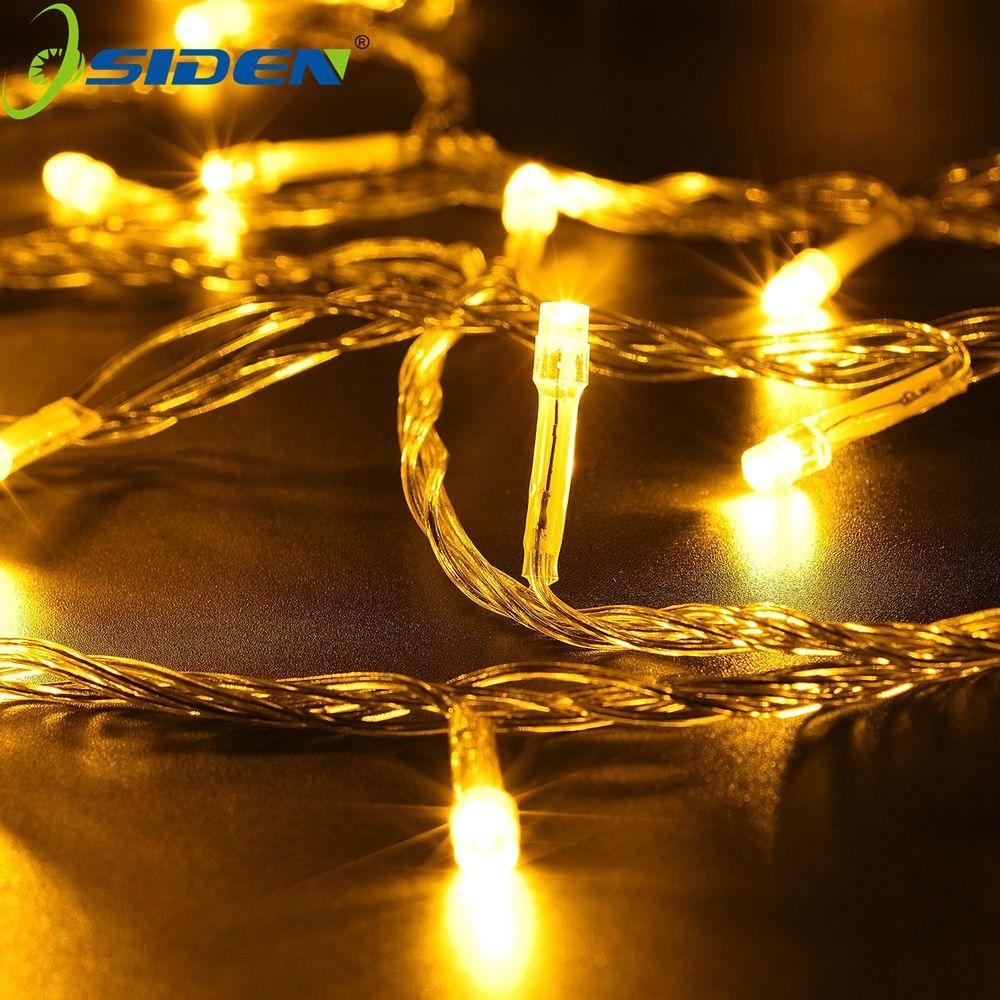 20 m 9 couleur AC110/220 V led string 200 leds mariage fête de noël arbre de noël décoration lumières, led lumière de noël