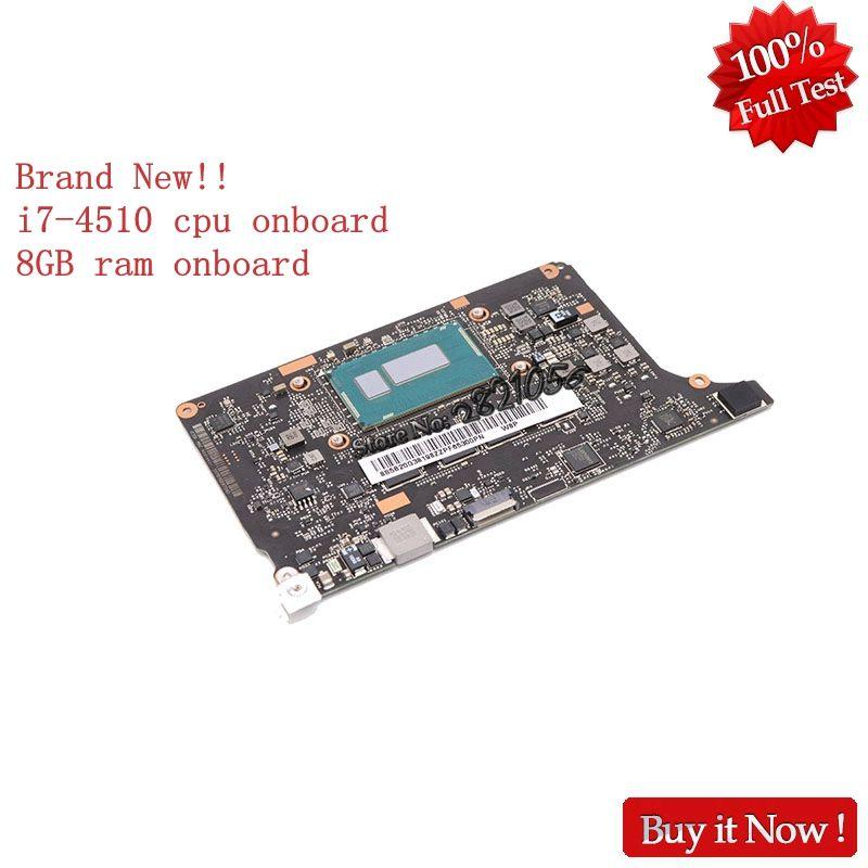 Brand New VIUU3 NM-A074 5B20G38213 Main Board For Lenovo yoga 2 pro Laptop motherboard i7-4510U SR1EB 8GB ram onboard