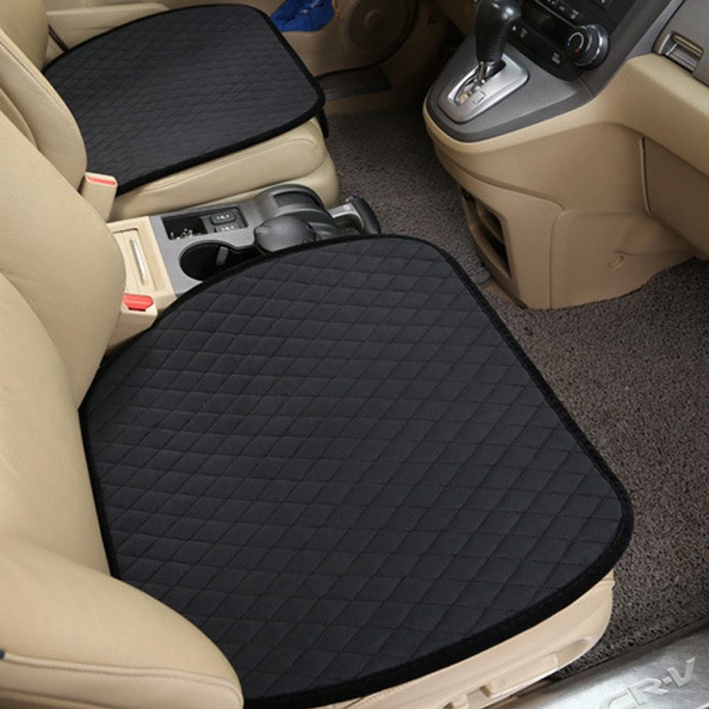 1Pcs Car Seat Cover Mat Auto Front Seat Cushion Single Fit Most Vehicles Seat Covers Non-slip Keep Warm Car Seat Protect New