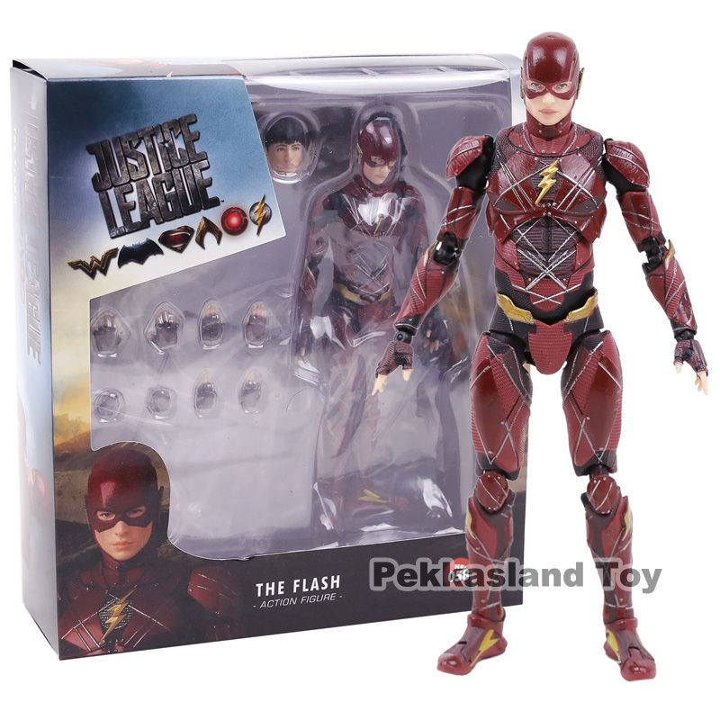 Medicom Mafex No.58 DC Justice League The Flash PVC Action Figure Collectible Model Toy