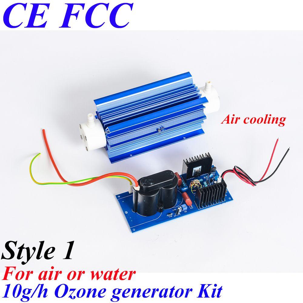 Pinuslongaeva CE EMC LVD FCC 10 gr/std Quarz rohr typ ozon generator Kit ozon generator Schwimmbad abwasser wasser behandlung