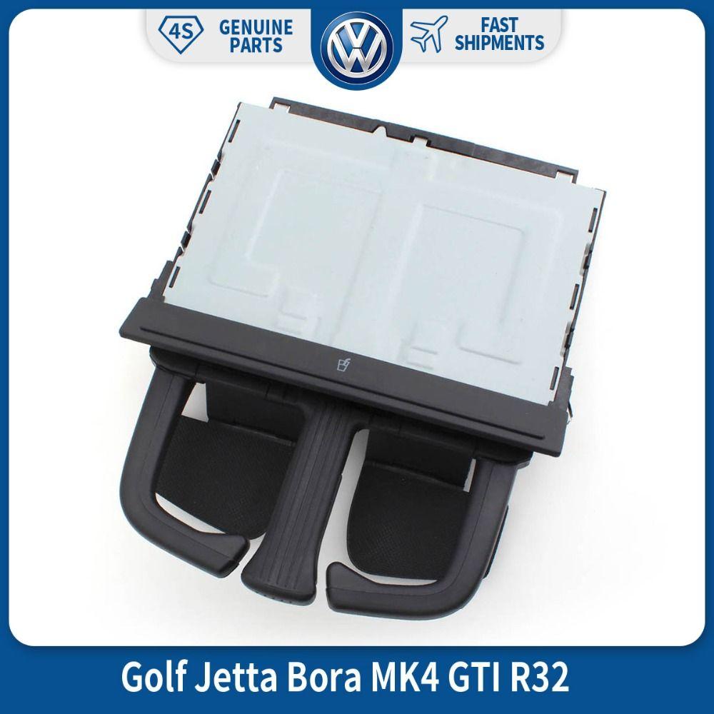 OEM Front Dash Fold VW Car Auto Drink Cup Holder for VW Volkswagen <font><b>Golf</b></font> Jetta Bora MK4 GTI R32 1J0 858 601 8P0 885 995B 6PS