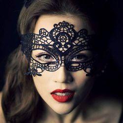 2 шт./лот женские сексуальные кружевные Хэллоуин Маскарадная маска маски для Хэллоуина Венецианские костюмы Карнавальная маска для анонимн...