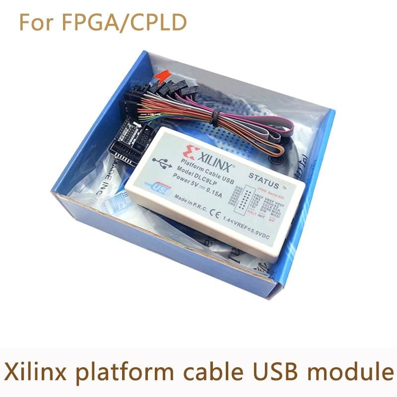 Xilinx Platform Cable USB Download Cable Jtag Programmer for FPGA CPLD support XP/WIN7/WIN8/Linux XC2C256 Chip
