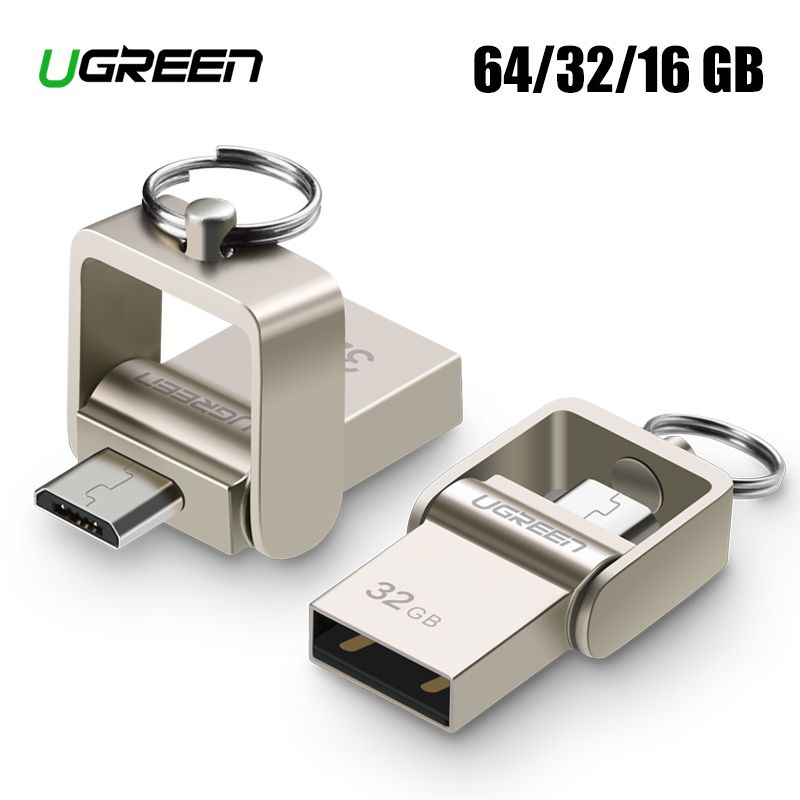 Ugreen USB-Stick Micro USB OTG Stick 64 32 GB Für Xiaomi Redmi Hinweis 5 Redmi 5 Plus 4X telefon Memory Stick Karte USB Flash