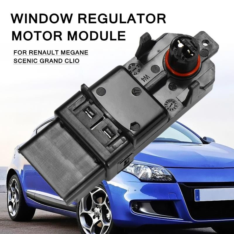 Window Regulator Motor Module For Renault Megane Scenic Grand Clio Include One Touchs Opening And Total Closure