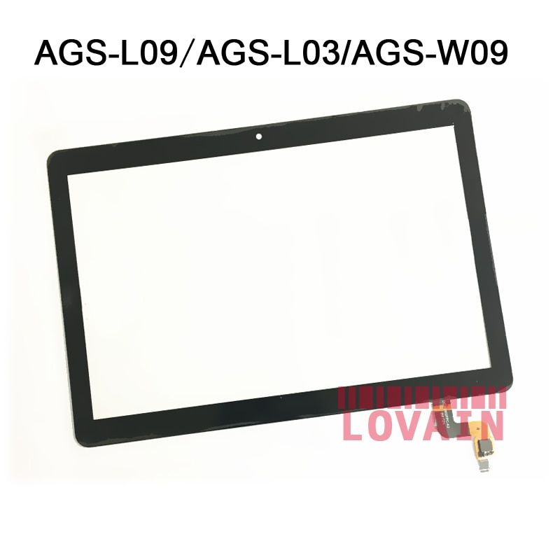 1Pcs For Huawei MediaPad T3 10 9.6 AGS-L09 AGS-W09 AGS-L03 Touch Screen Lovain Digitizer LCD Outer Panel Cover