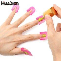 26PCS/Set Manicure Finger Nail Polish Shield Protector Tool Nail Art Stickers Tips Cover Case Keep Nail Polish From Spilling