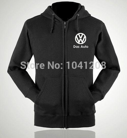 Ectique S ~ XXL taille 4 couleurs vestes d'hiver Volkswagen VW 4S vêtements de travail sweatershirt pull