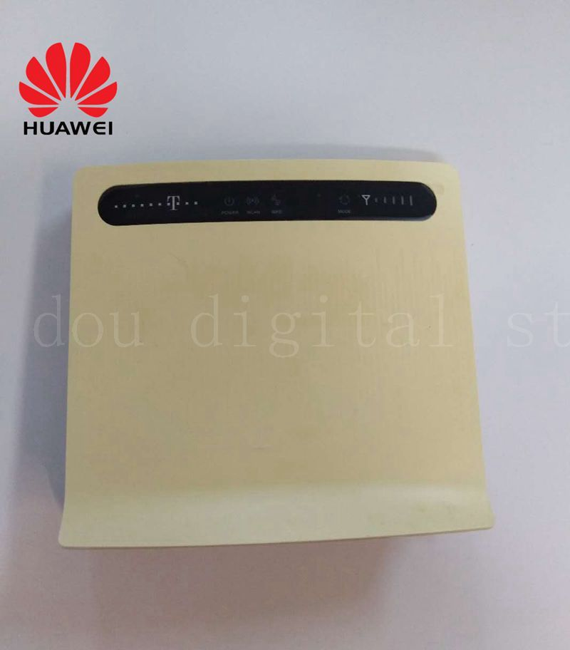 Unlocked Huawei B593u-12 B593S-12 4G LTE 100Mbps CPE Router With Antenna with Sim CardSlot 4G LTE WiFi Router