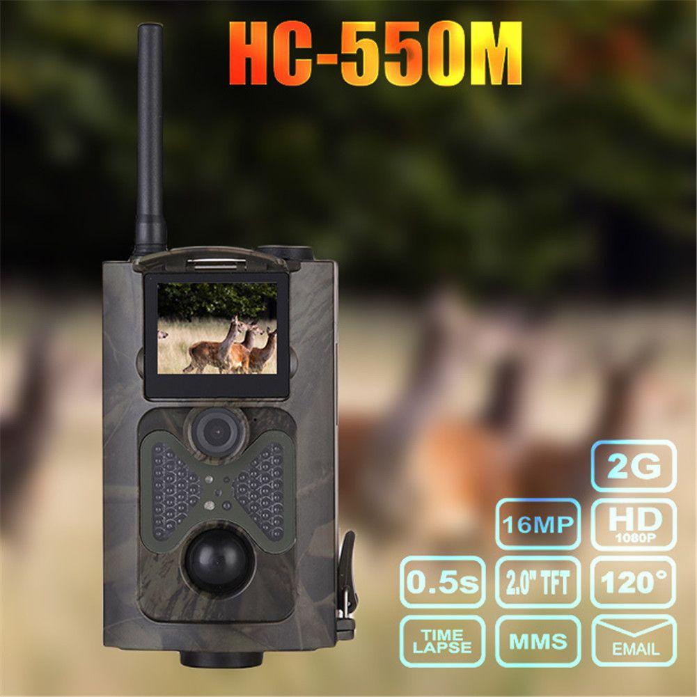 Suntek HC-500M Jagd Kamera Scouting Infrarot 12MP 1080 P 2G GSM MMS GPRS SMS Wildlife PIR Sensor Anblick Winkel Trail Kamera