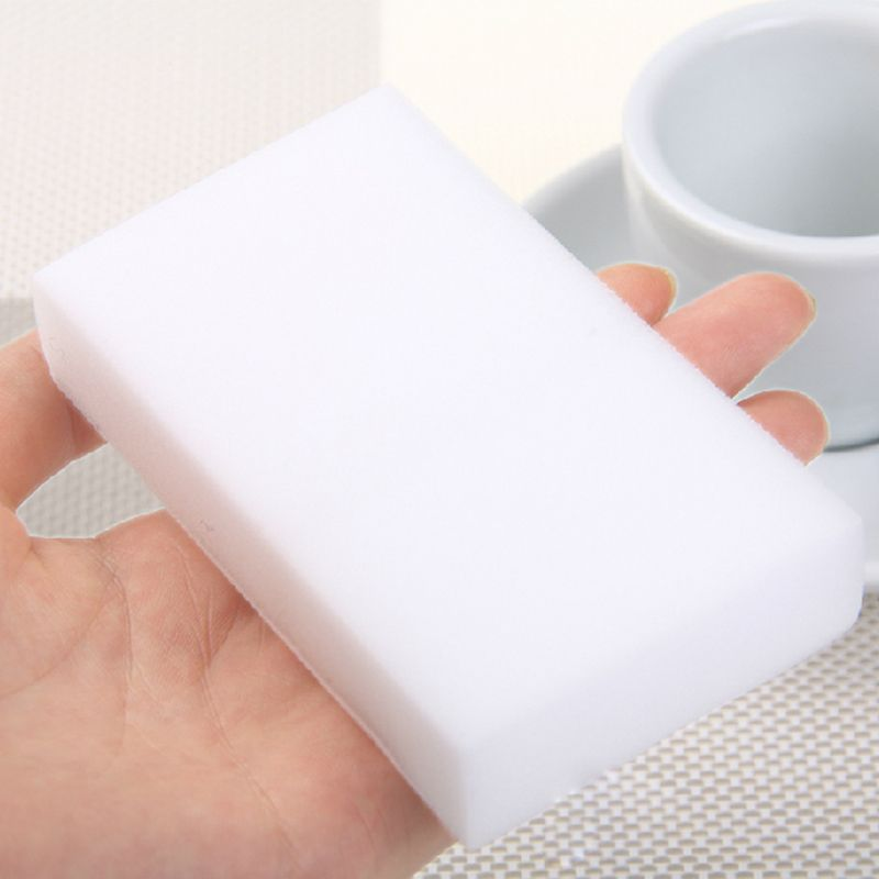 100Pcs/40pcs Melamine Sponge Magic Sponge Eraser Melamine Cleaner for Kitchen Office Bathroom Cleaning Nano Sponges 10x6x2cm