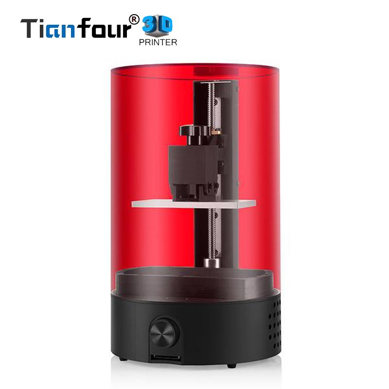 Tianfour Sparkmaker light curing SLA 3d printer use 405 nm UV/Photosensitive resin for model Jewelry dentistry gift