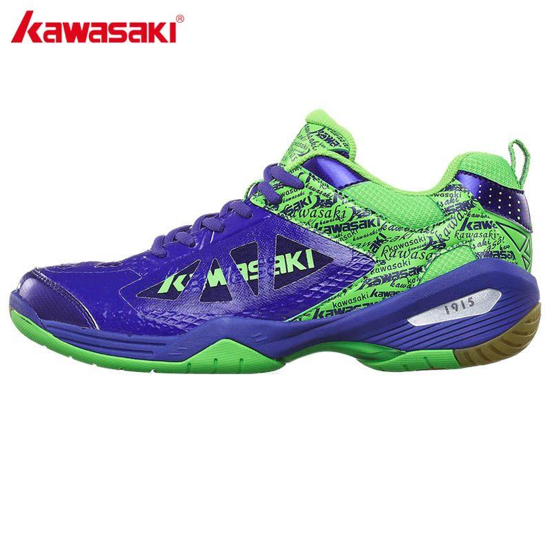 2017 echtes Kawasaki Marke Badminton Schuhe für Frauen Männer Atmungsaktivem Mesh Turnschuhe männer Sportschuh K-338