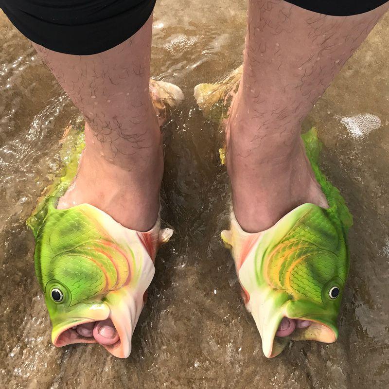 New Summer Beach Shoes Men Outdoor Sandals Men's Hot Aqua shoes Water Slippers Lesiure MD Platform For Sandalias