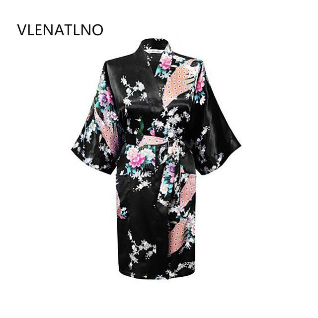 2015 шелковые кимоно халат Для женщин атлас халат Longue Femme для Для женщин ночь сексуальные Халаты ночь расти для невесты лето