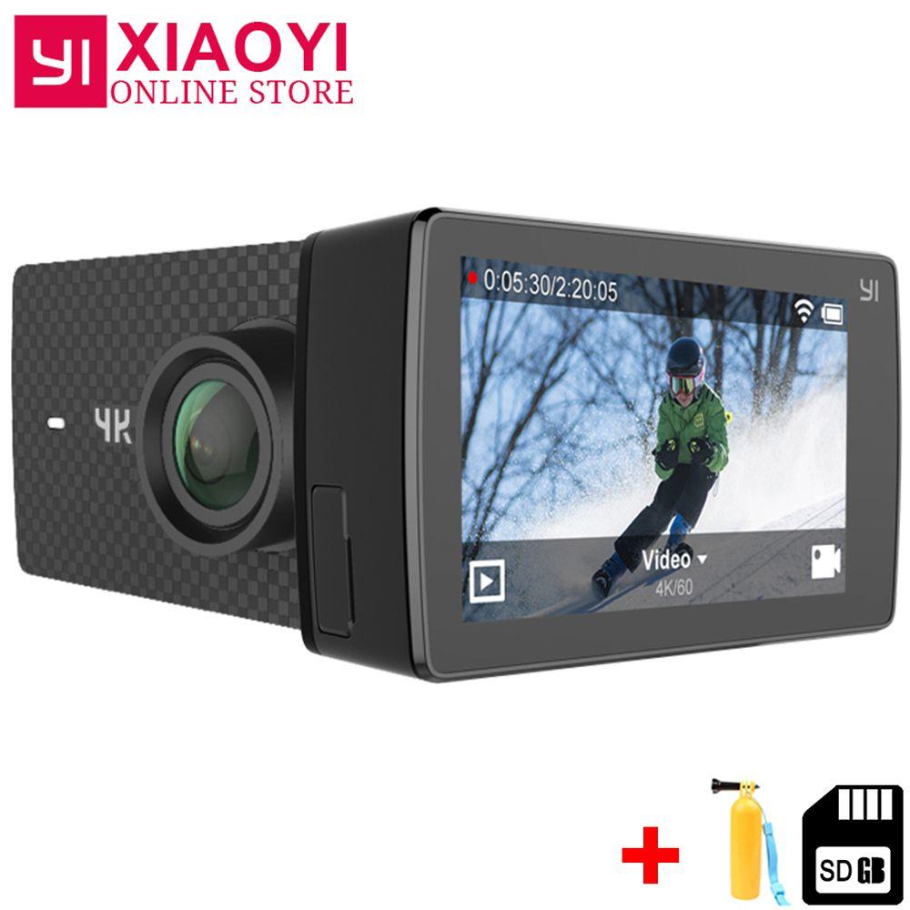 Xiaomi YI 4 karat + (Plus) sport Action Cam Kamera Xiaoyi 4 karat + Action Kamera Amba H2 4 karat/60fps 12MP CMOS 2,2 LDC 155 Grad RAM WIFI