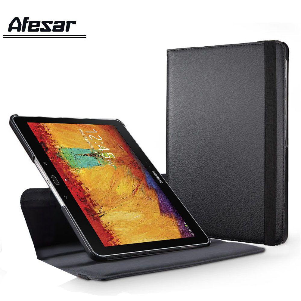 SM P600 P601 P605 rotatif 360 couverture de livre étui pour samsung Galaxy Note 10.1 (2014 édition) Tab Pro 10.1 T520 T521 T525 cas