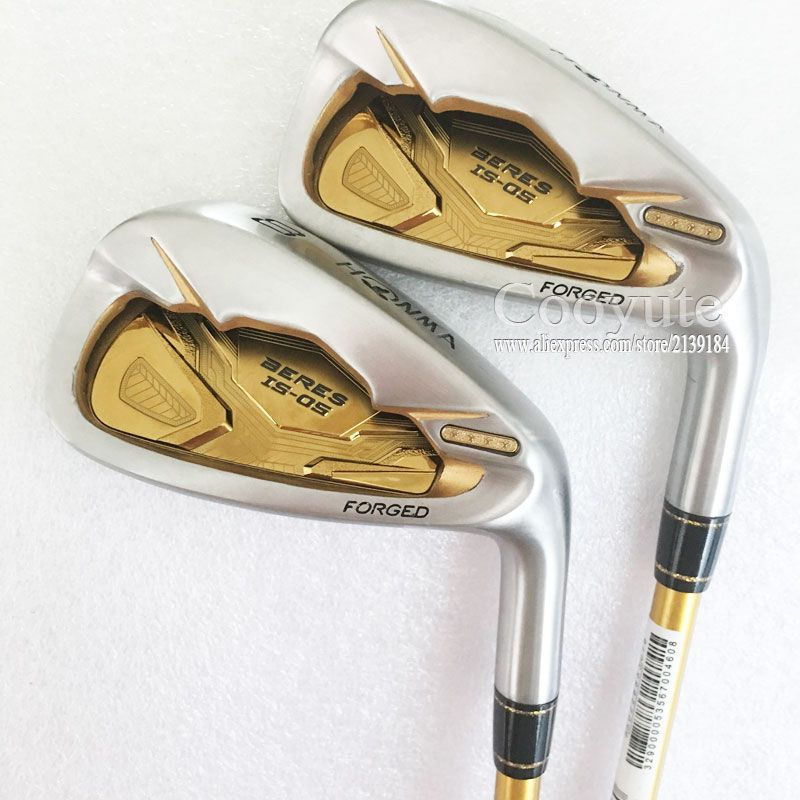 New Golf Clubs HONMA Golf S-05 4star Golf irons set 4-11 Aw Sw HONMA Clubs Irons Graphite Golf shaft R Cooyute Free shipping