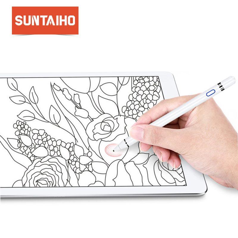 Für apple Bleistift Suntaiho stylus kapazität touch Bleistift für apple ipad mit einzelhandel Paket für apple stift für Tablet geräte