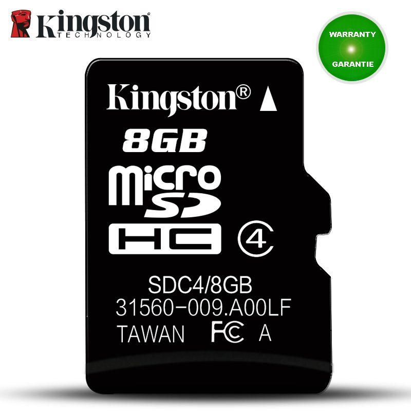 Kingston Micro Sd Memory Card 8GB C4 Mini Sd Card cartao de Memoria Card UHS-I carte sd 8gb micro SDHC Flash Card For SmartPhone
