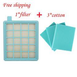 4 шт./lotFilter сетчатый HEPA фильтр BUFFALO-MISTRAL для пылесоса Philips FC8470 FC8471 FC8472 FC8473 FC8474 FC8476 fc8634