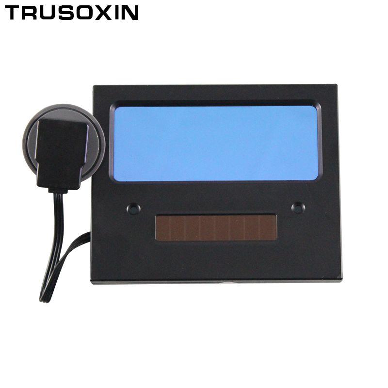 Batterie solaire AAA automatique/assombrissement automatique TIG MIG MMA MAG masque de soudage/casques masque facial lunettes de soudeur/lentille filtrante de masque pour les yeux