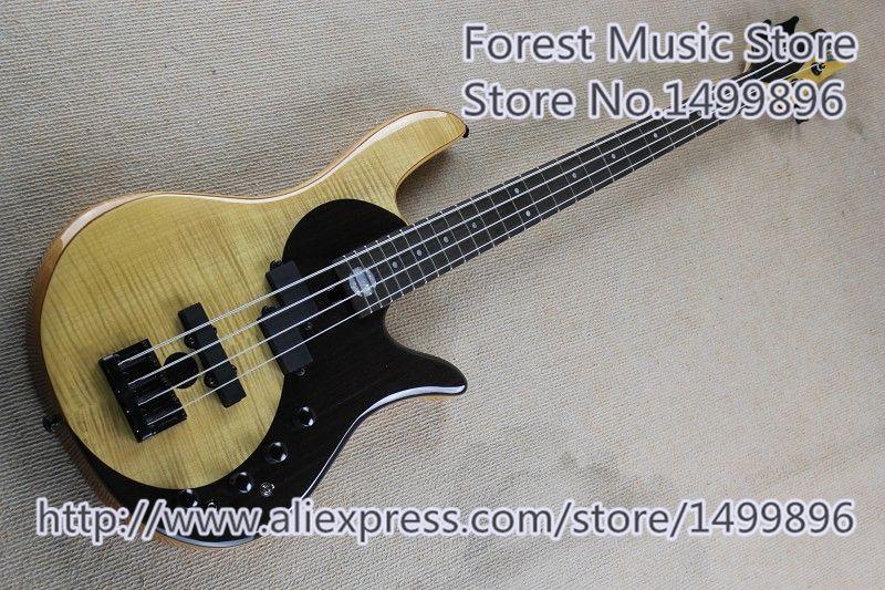 New Arrival China Fodera Bass Guitar Electric 4 String Yin Yang Bass Free Shipping