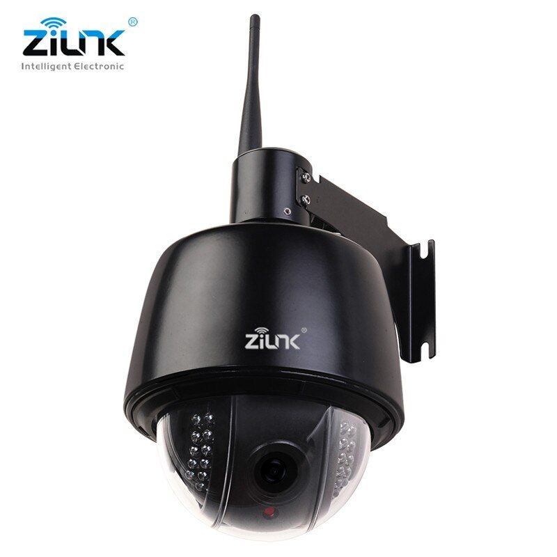 ZILNK Full HD 1080P Speed Dome IP Camera Outdoor PTZ 2.7-13.5mm Auto-Focus 5x Zoom IP66 Waterproof Onvif H.264 Wifi Wireless