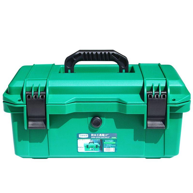 LAOA trousse à outils étanche 15 /17/19 boîte à outils deux couches boîte à joint boîtier antichoc boîte à outils en plastique valise portable pour outils