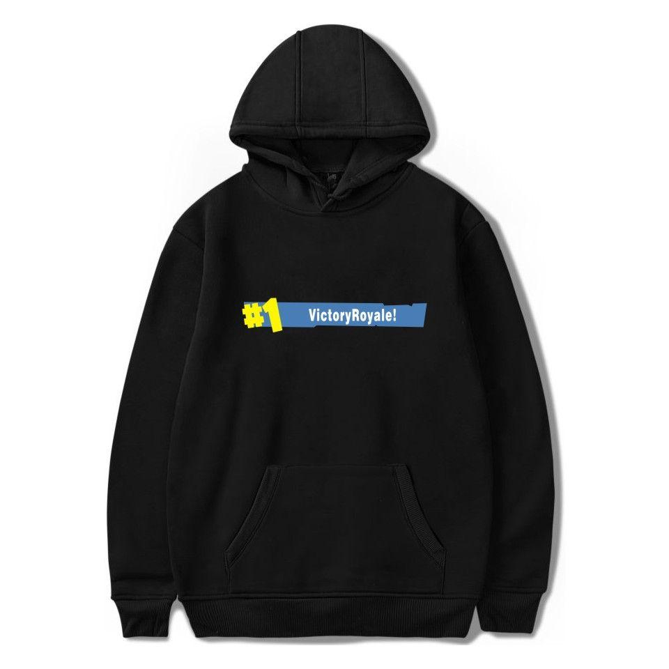 Fortnite Hoodies Casual Long Sleeve Hoodies Streetwear Hip Hop Male Pullover Winter Keep <font><b>Warm</b></font> Hoody Fortnite