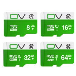 OV Memory Micro SD Card 64GB 32GB 16GB Class 10 SDXC SDHC UHS-1 TF Carte Microsd Flash Card SD Card Mini Sd Card 8GB Class 6