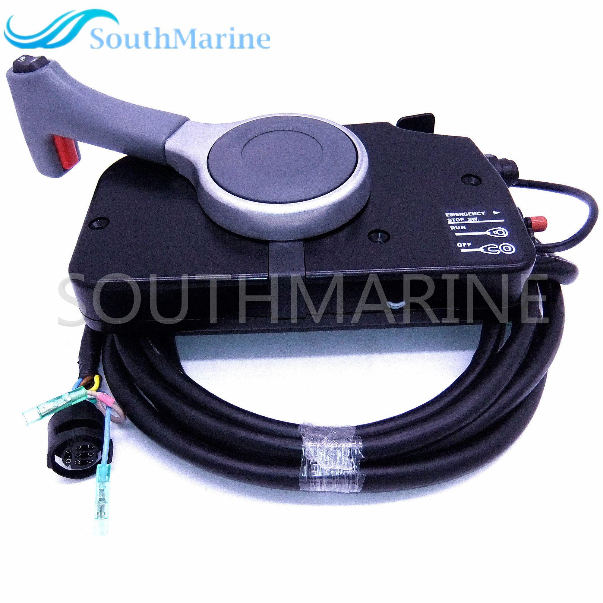 Outboard Motors 67200-99E56 Side Remote Control Box for Suzuki with PT Push 67000-99E56 67200-99E71 ,Free Shipping