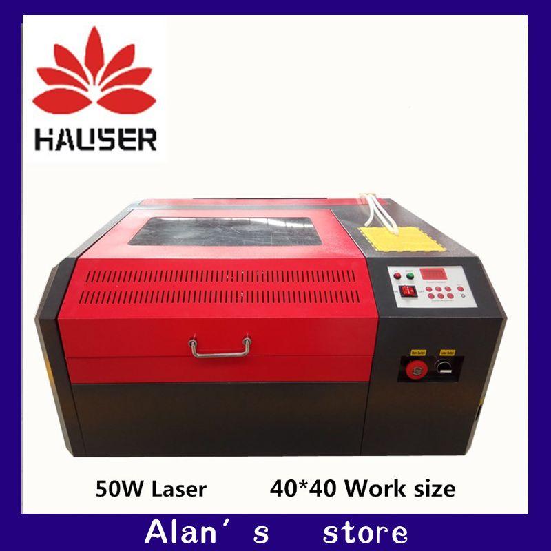 Freeshipping 4040 Co2 laser graviermaschine schneidemaschine CNC laserengraver, DIY laserbeschriftungsanlage, carving-maschine