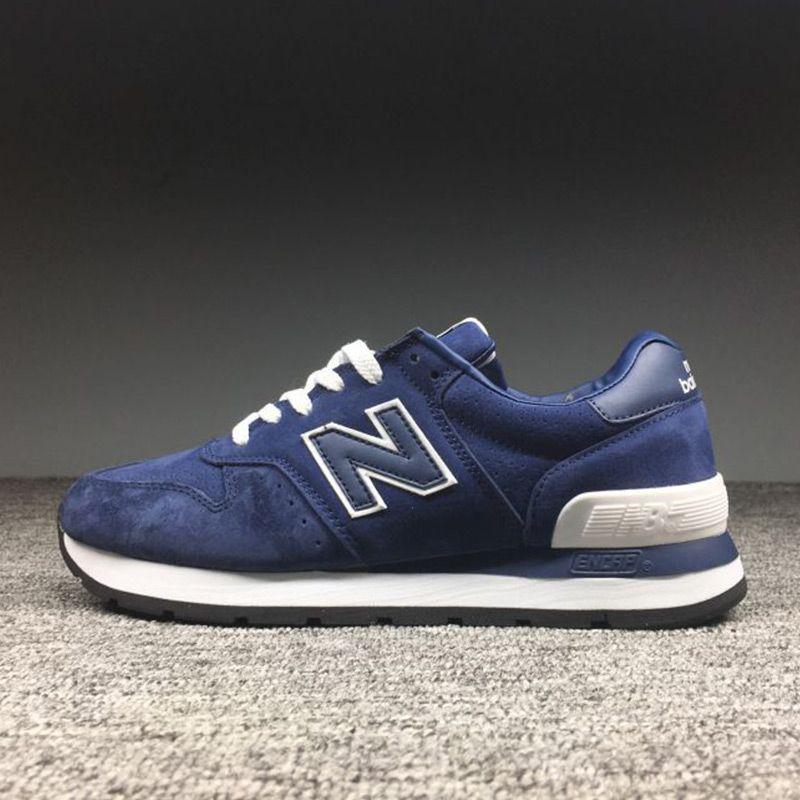 NEUE BALANCE MS2018995 männer Schuhe Lace Up Einlegesohlen Dämpfung Retro Turnschuhe 40-44 4 Farben
